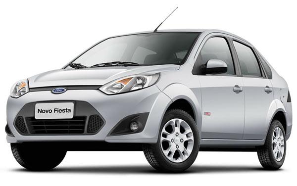Ford Fiesta Rocam Sedan - As linhas fluidas integram a frente à traseira de forma harmoniosa