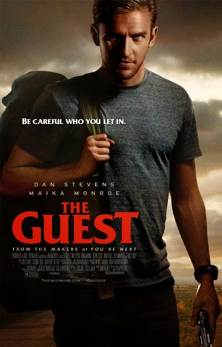THE GUEST (2014) movie review by Glen Tripollo