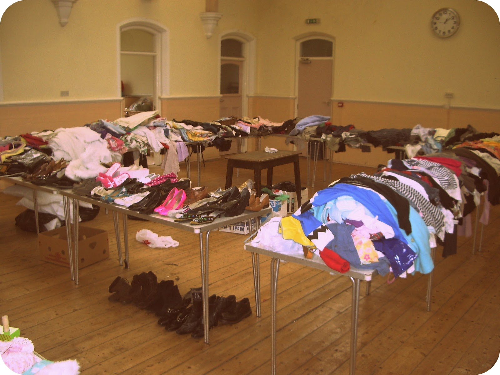 This is what your average jumble looks like before it opens the doors