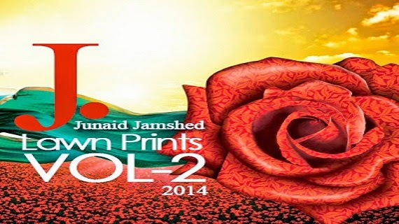 J. Junaid Jamshed Lawn Collections 2014 Vol-2