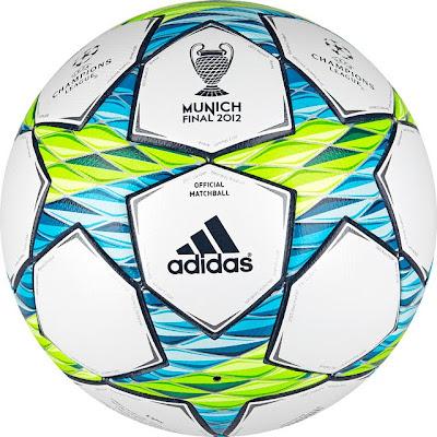 """""""Finale Múnich"""": El Balón de la final de la Liga de Campeones 2012"""
