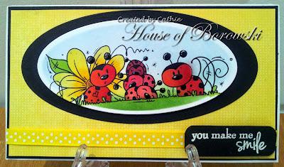 Diecut Divas, Bugaboo Digi Stamps ladybug line.