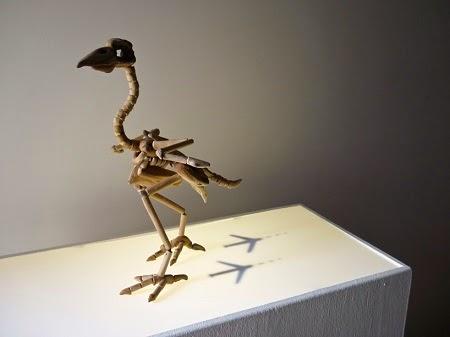 Esqueletos con Madera Recuperada por Giovanni Longo