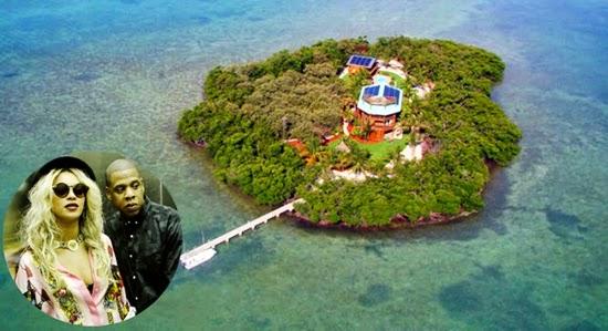 beyonce dan jay z : selebriti yang memiliki pulau pribadi