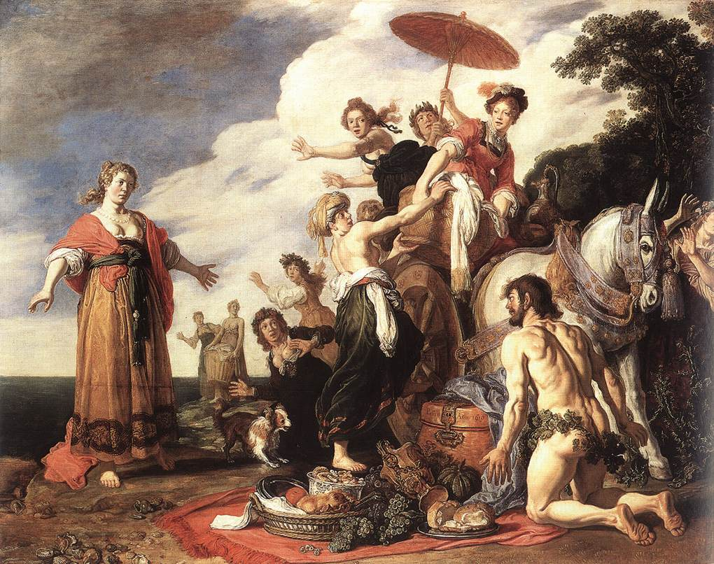 Odysseus Meets Nausicaa
