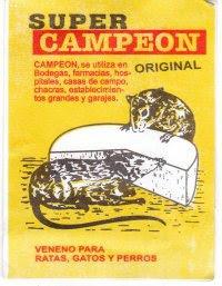 CAMPEÓN (Veneno para ratas)