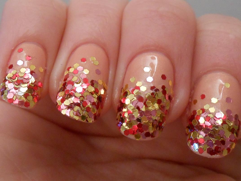 My Mint Nails: Loose Glitter Nails & Ciate Calendar Again
