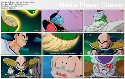 "Download Film / Anime Dragon Ball Kai Episode 36 ""Kemarahan Freeza! Polunga, Kabulkanlah Keinginan Kami"" Bahasa Indonesia"