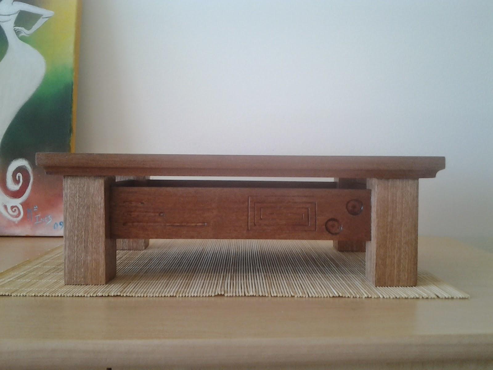 Rvores e lendas mesa para bonsai home made - Mesas para bonsai ...