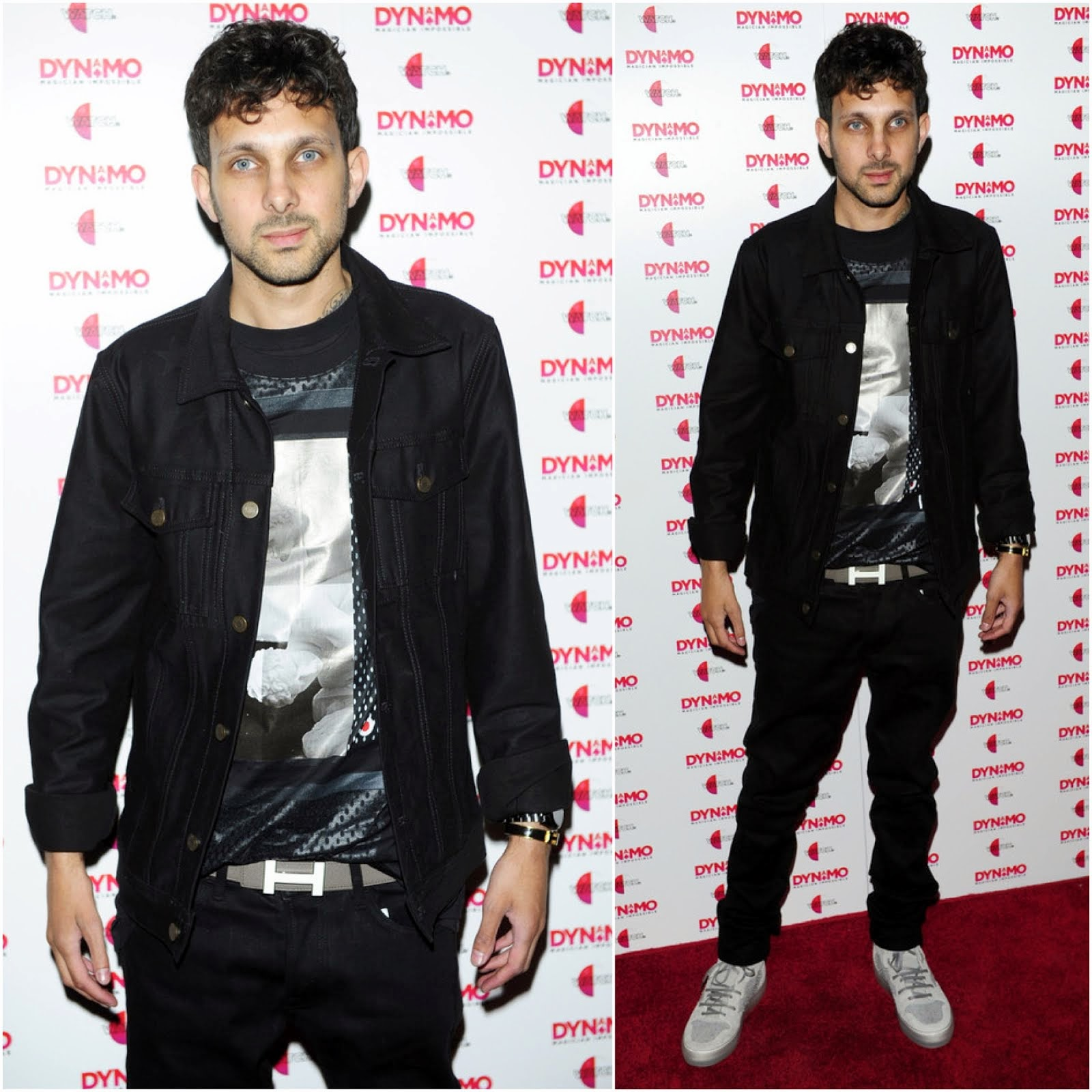 00O00 Menswear Blog: Dynamo in Givenchy - 'Dynamo: Magician Impossible' series 3 launch party, London