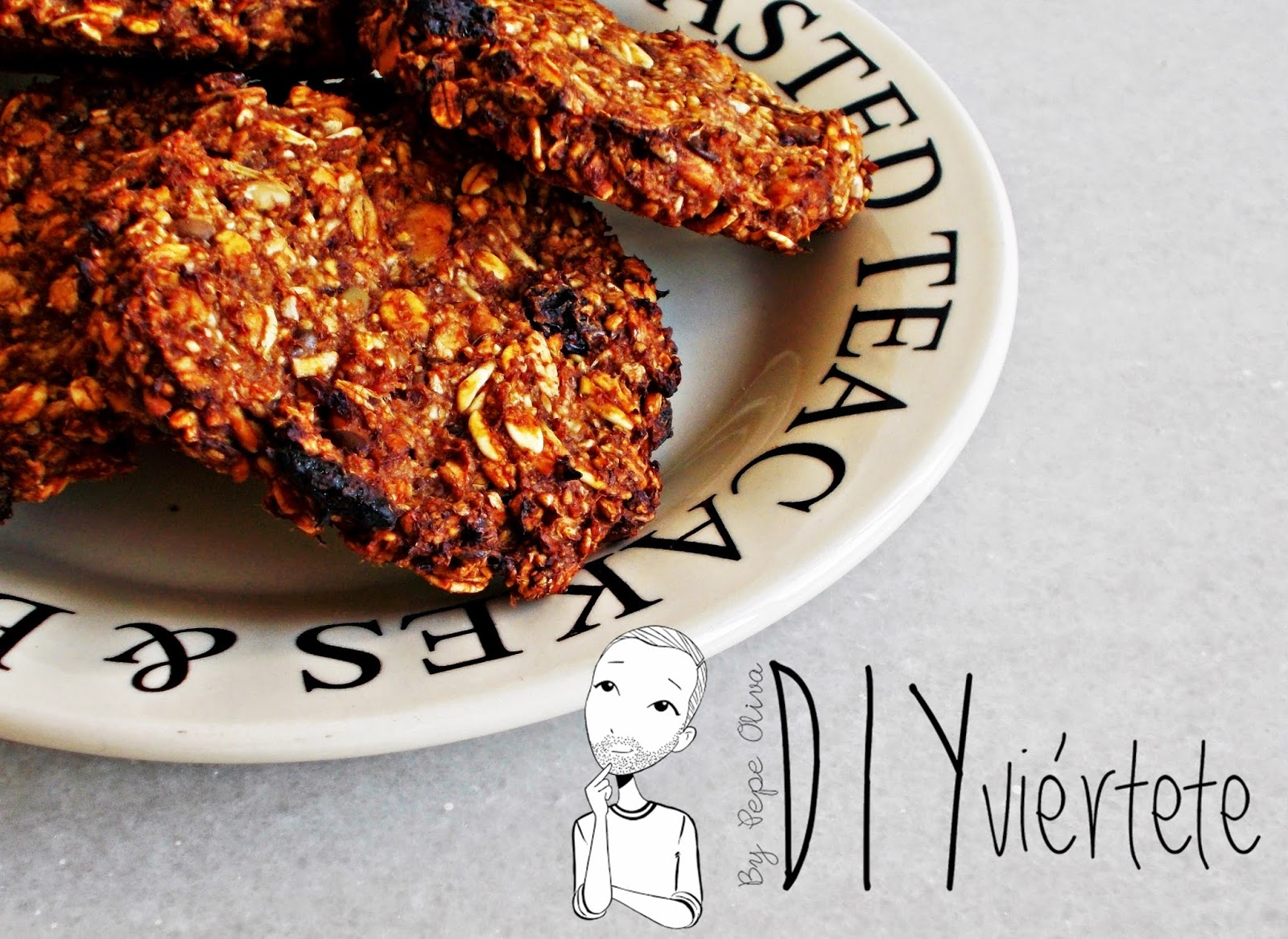 Galletas de avena y plátano-cocina-repostería-fitnes-deporte-gym-ligth-1