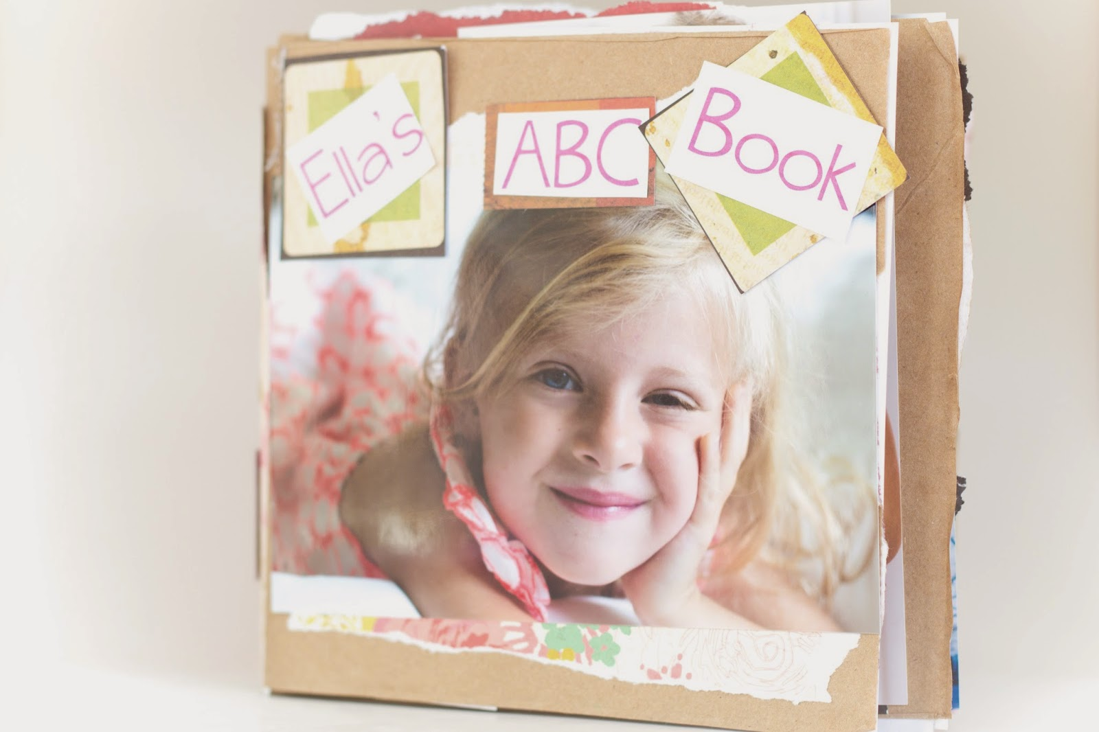Do It Yourself Divas Diy Abc Book Using Brown Paper Bags