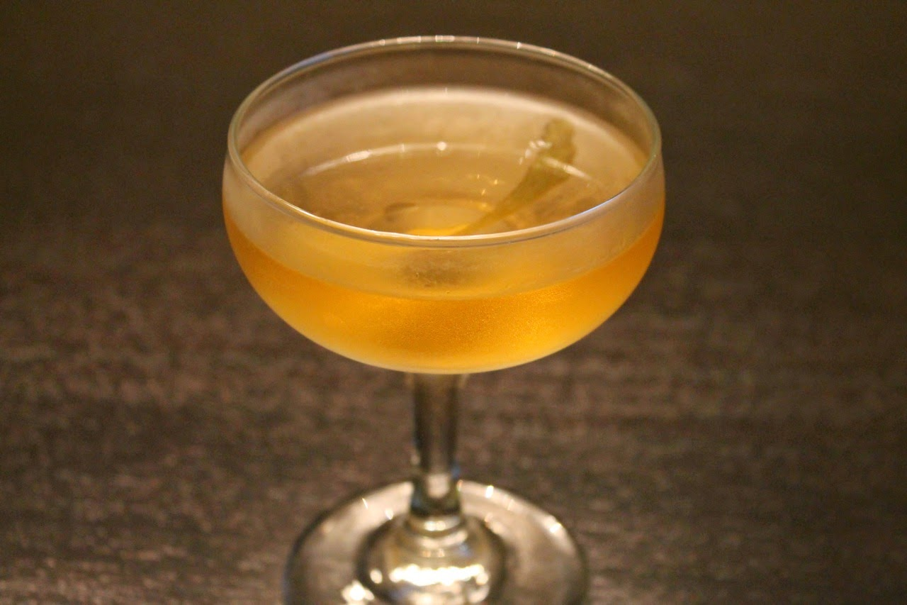 Improved Tequila Cocktail with Bittermens Xocolatl Mole Bitters