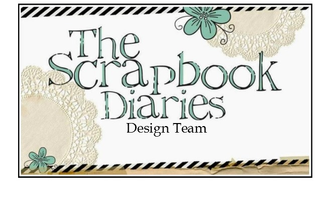 Proudly Designing For<br>The Scrapbook Diaries<br>Kit Club