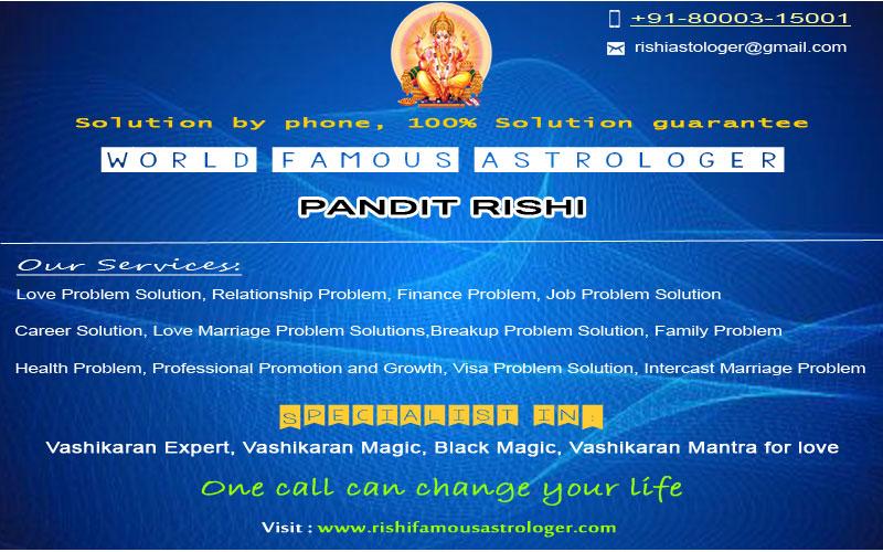 Rishi Famous Astrologer, +9180003-15001