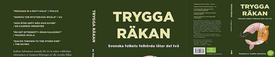 Trygga räkan - Boken om felhörda låtar #2