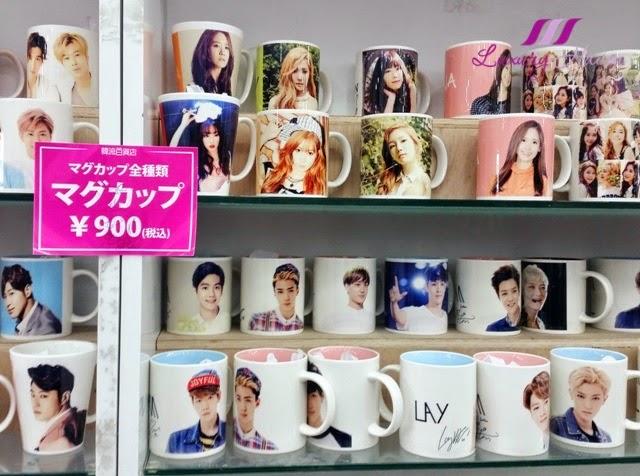 shin okubo korea town kdrama souvenirs