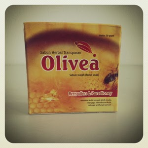 Sabun Wajah Olivea Beepollen & Pure Honey