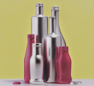 Bodegones Modernos Frascos Botellas Coloridas