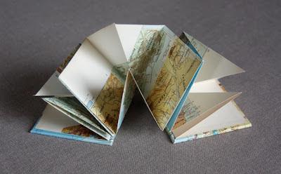 Vintage maps book