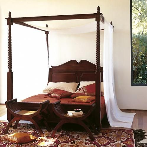 Byelisabethnl interior canopy beds colonial style 2 for Colonial beds