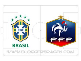 Prediksi Pertandingan Prancis vs Brasil