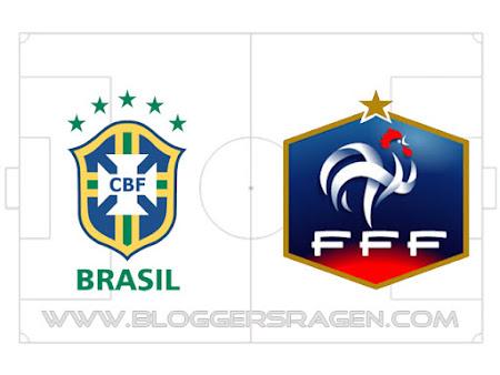jadwal siaran langsung brasil vs prancis