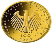 Latest 100 Euro Gold Coin