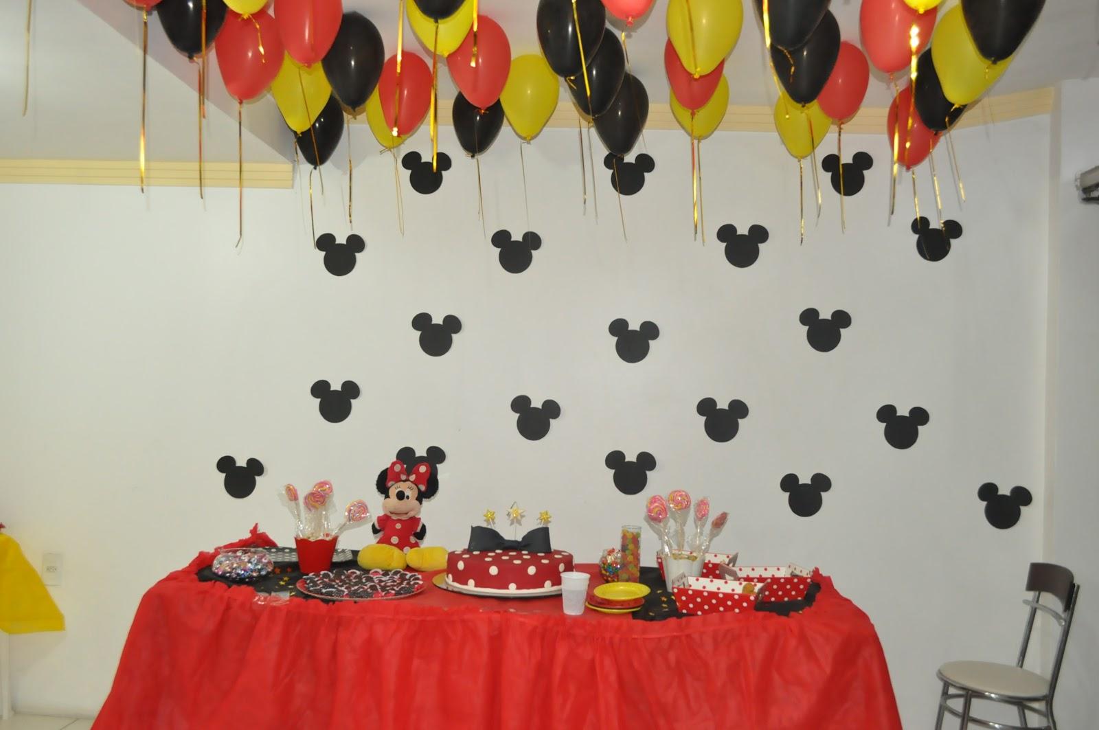 Maria Lima Festa simples da Minnie Vermelha -> Decoraçao De Festa Da Minnie Vermelha Simples