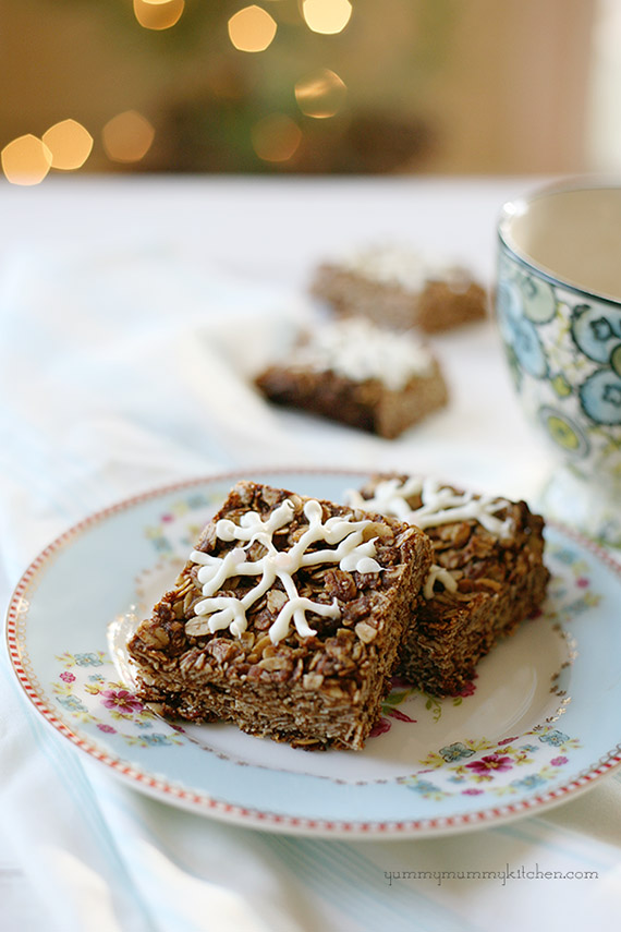 Vegan Gingerbread Granola Bars and Holiday World Peace Cookies | Yummy ...