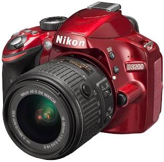 Harga dan Spesifikasi Kamera NIKON D3200 Kit