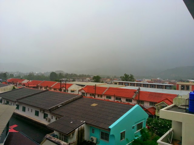 View from our office in Kathu