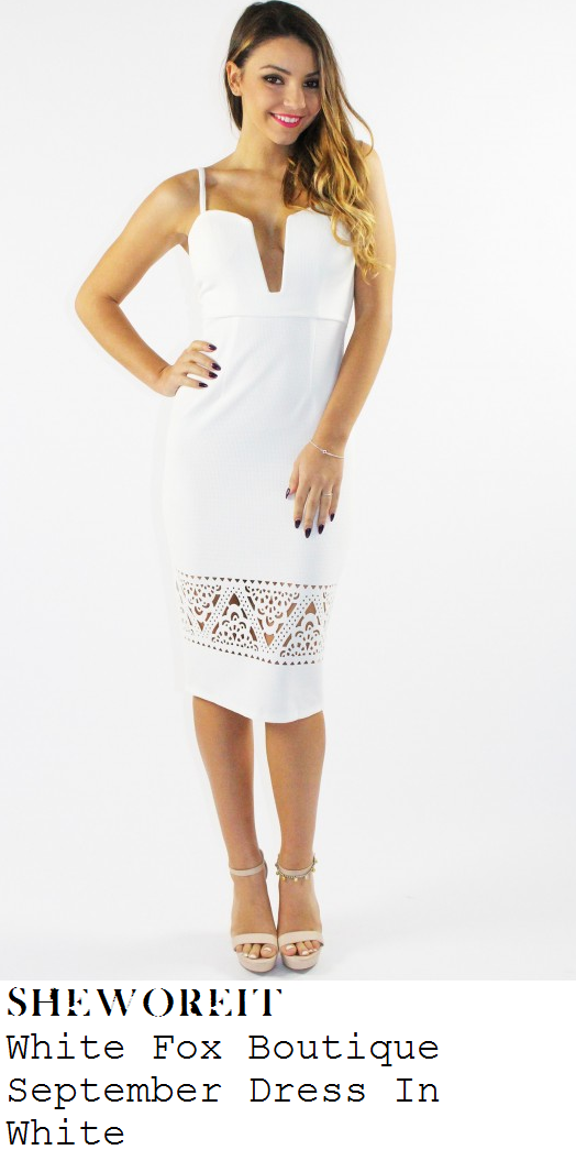 vicky-pattison-white-plunge-front-sleeveless-laser-cut-bodycon-midi-dress