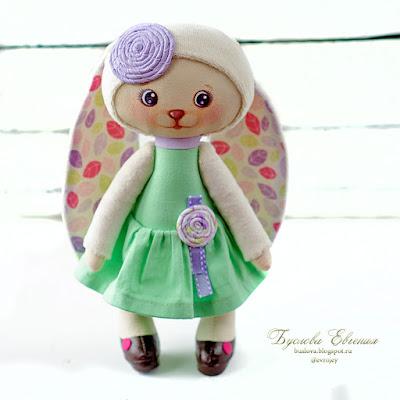 Зайка, заяц, тильда, текстильный заяц, текстильная игрушка, кукла, Буслова Евгения