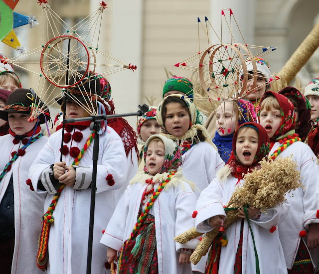 Christmas caroling 2012 in Lviv, Ukraine