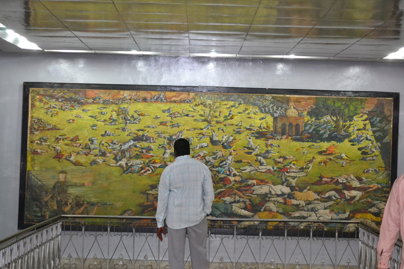 Jallianwala Bagh  massacre in painting
