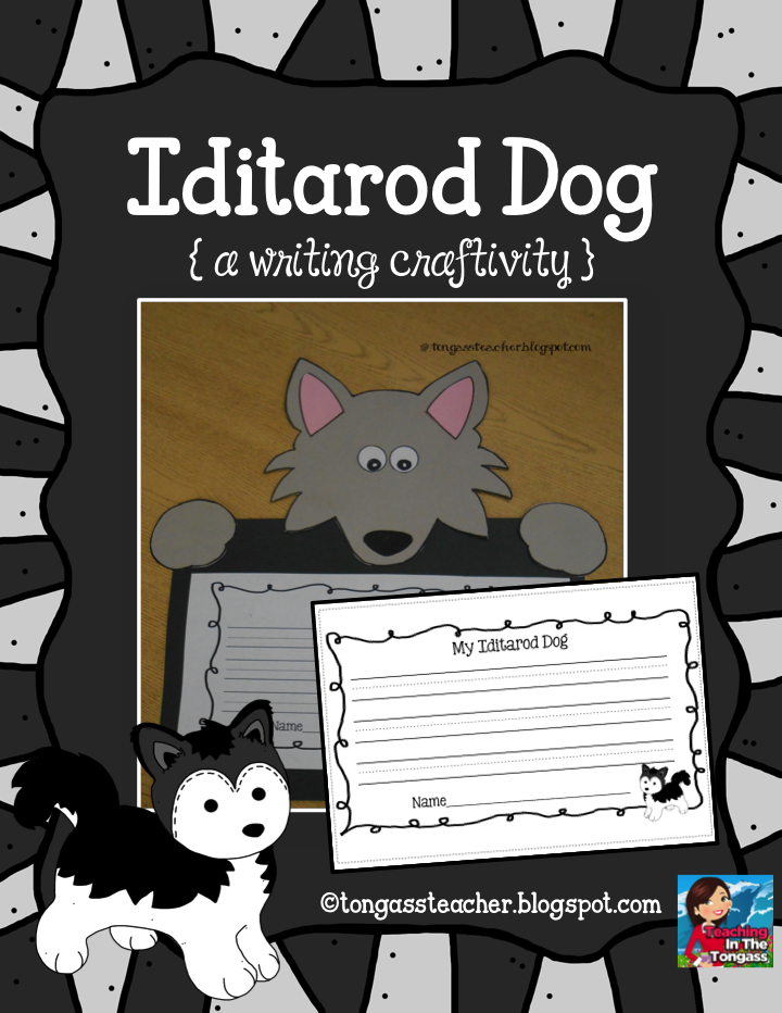 http://www.teacherspayteachers.com/Product/Iditarod-Husky-Dog-Craftivity-632817