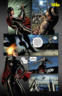 Miss Fury #1 from Dynamite preview page 3