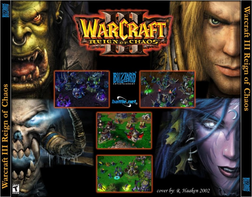 Free Download Warcraft III: Reign of Chaos RIP Version (188MB)