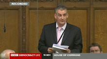 Graham Jones in Parliament