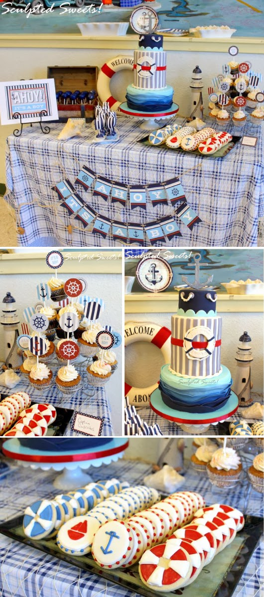 yay i made it ahoy it 39 s a boy baby shower