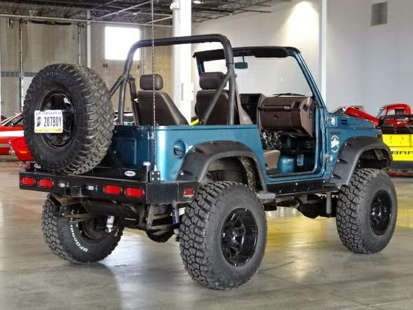 awesome 1988 suzuki samurai auto restorationice. Black Bedroom Furniture Sets. Home Design Ideas