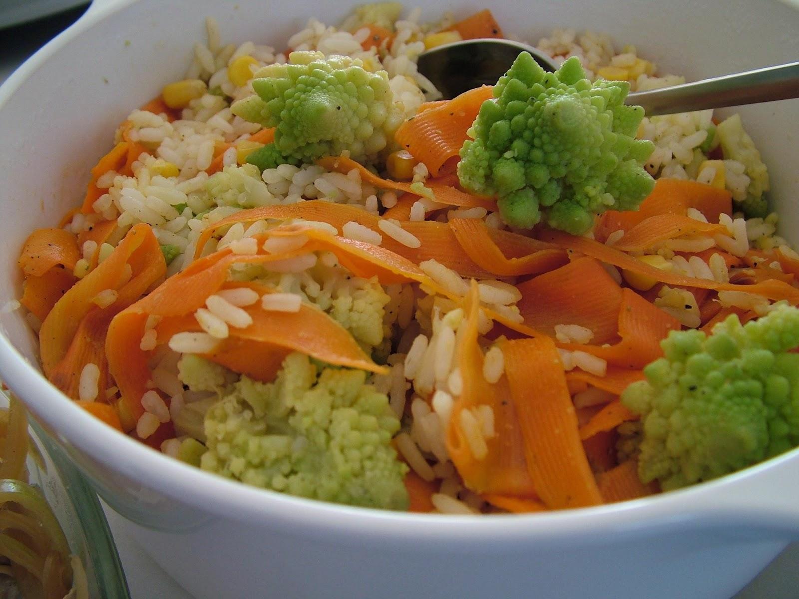 Potrawka z zielonym kalafiorem