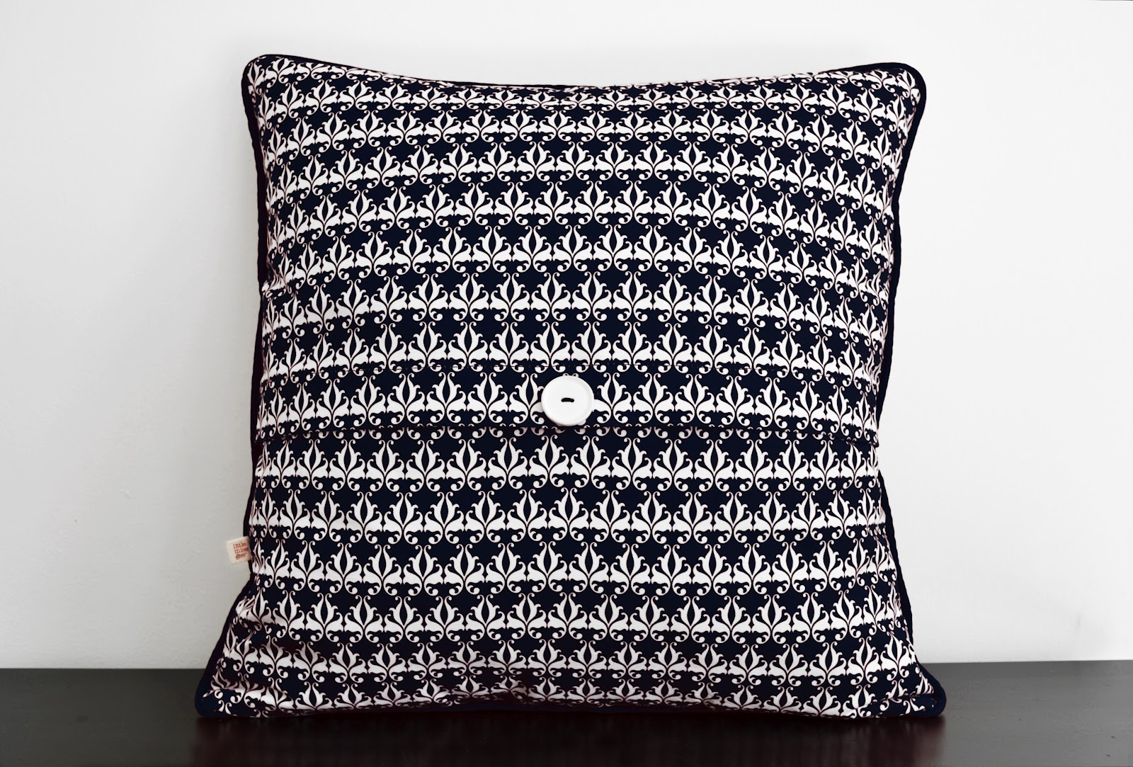 Babushka Print Cushion