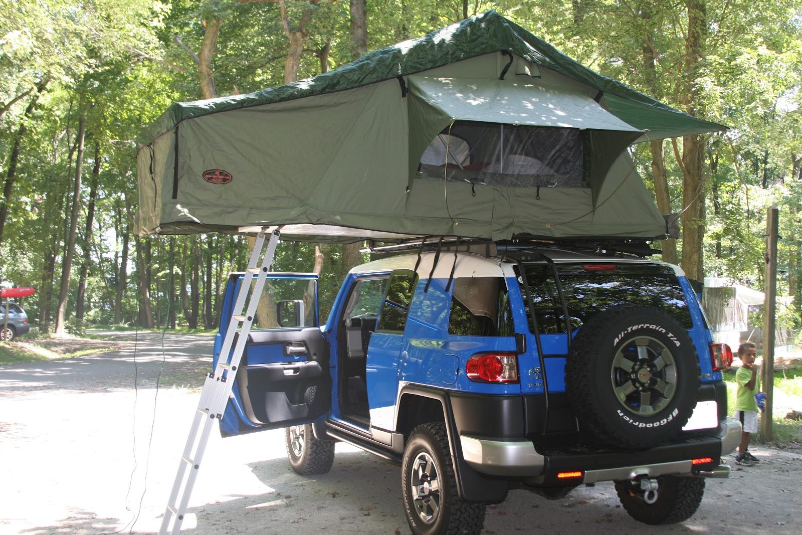 My Fj Cruiser Roof Top Tent