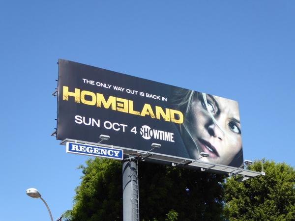 Homeland Season 5 billboard