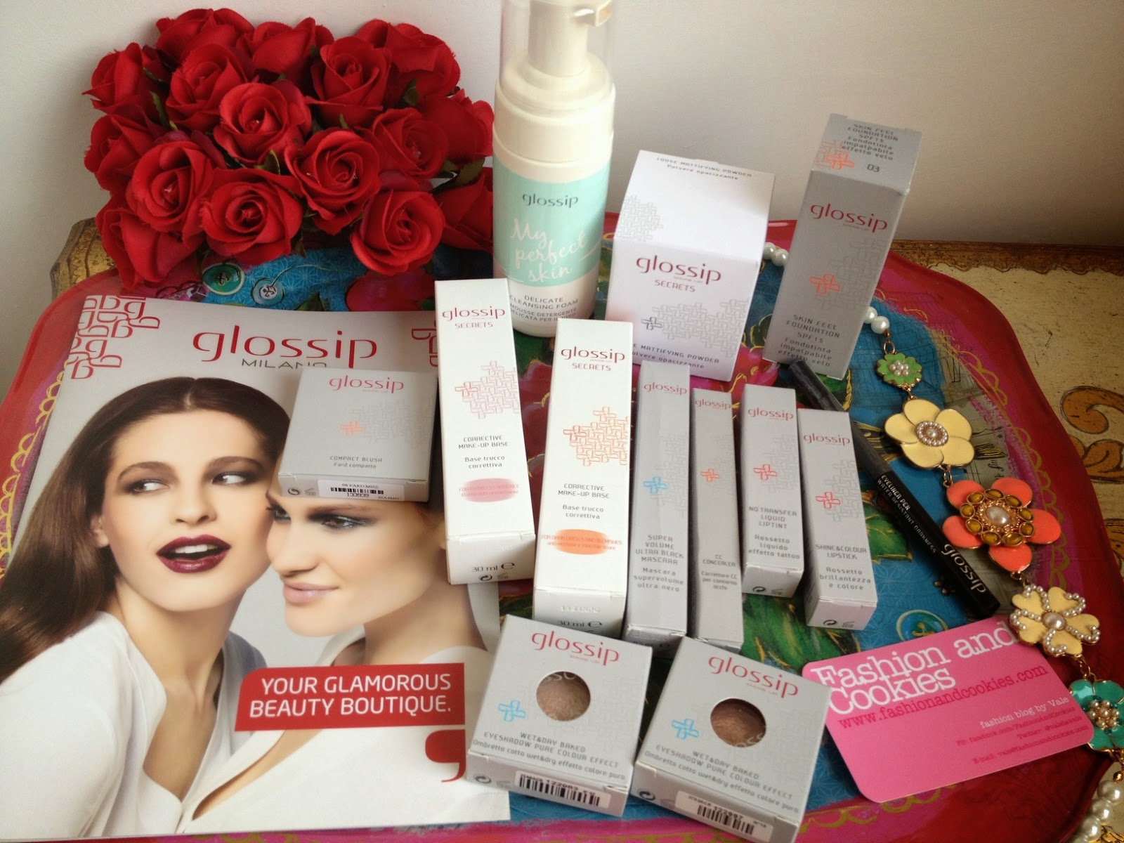 Glossip Milano make-up, Glossip haul, italian brand, trucco, beauty, Fashion and Cookies fashion blog