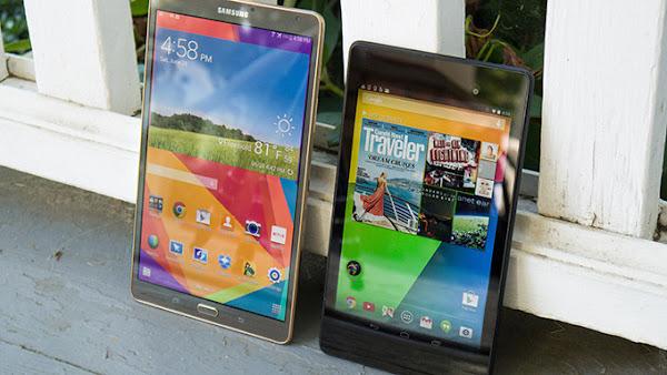 Samsung Galaxy Tab S 8.4 vs. Google Nexus 7