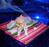 velas y sahumerios andinos