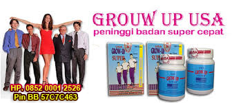 Grow Up USA Peninggi Badan Super Cepat